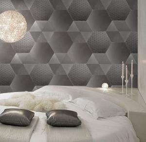 Tex-Hex_Flower-Lines-Black Matte_residential